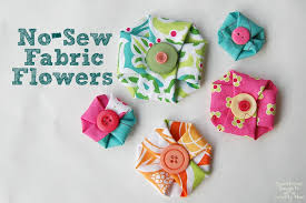 no sew fabric flowers scattered thoughts of a crafty mom by