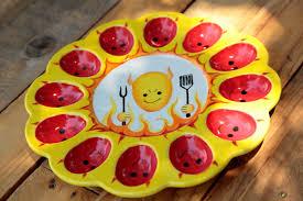 egg platter devilishly egg platter ilovetocreate