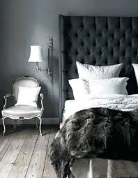 Grey Tufted Headboard King Pretty Tufted Headboard King In Bedroom Contemporary With Gray And