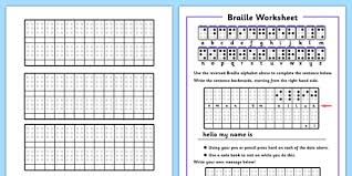 braille worksheets braille worksheets braille alphabet