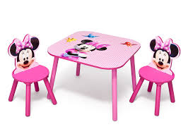 Mickey Mouse Chairs Minnie Mouse Wooden Table And Chair Set Mickey Mouse Dresser