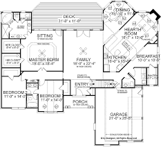 new american house plan with 3785 square feet and 4 bedrooms from