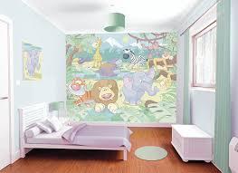 walltastic baby jungle safari wallpaper mural 8 x 10 ft amazon walltastic baby jungle safari wallpaper mural 8 x 10 ft amazon co uk kitchen home