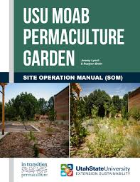 permaculture garden layout usu moab permaculture garden site operation manual by utah state