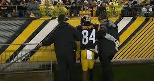 Antonio Brown Meme - antonio brown injury hospital daily snark
