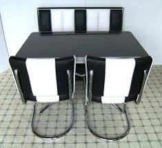 Banquette Booth Fixed Seating U2013 Retro Fifties Style Corner Booth Table And Chairs Set