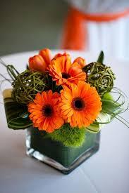 Sunflower Arrangements Ideas Best 25 Orange Wedding Flower Arrangements Ideas On Pinterest