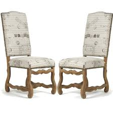 French Script Armchair French Chic Furniture And Decor
