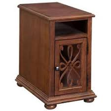 Chair Side Table With Storage Wedge Chairside Table