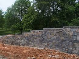 stone retaining wall design breathtaking gravity great property