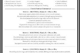 Electrician Resume Sample by An Awesome Mumbrella Example Barista Resume Sample Barista Resume
