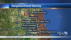 Chicago Neighborhood Map Crime by Survey Shows Some Chicagoans Lagging In Physical Mental Health