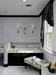 black tile bathroom ideas 71 cool black and white bathroom design ideas digsdigs