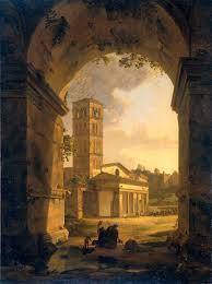 file de kerk van san giorgio in velabro te rome rijksmuseum sk a
