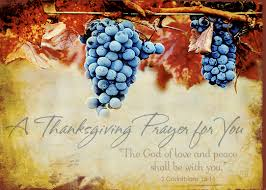 a thanksgiving prayer and a blessing from my house to yours