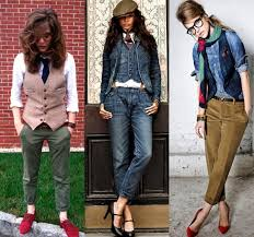 today the most resourceful ladies manage to wear girly tomboy
