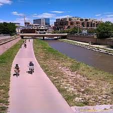 Orlando Urban Trail Map by South Platte River Trail Greenway Trail Road Running
