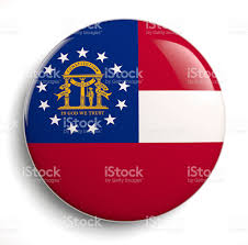 State Flag Meanings Georgia State Flag Stock Photo 499536641 Istock