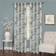 Turquoise Living Room Curtains Interior Cream Green Floral Living Room Drapes For Living Room