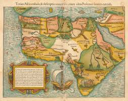 Africa Maps by Earliest Map Of Africa Dates Back To 1554 Earthly Mission
