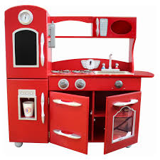 Toy Kitchen Set Wooden Teamson Kids Wooden Play Kitchen Set Hayneedle