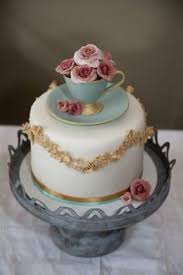 edible teacup cake by cakes by sian flower cakes pinterest