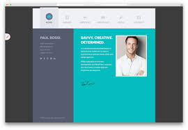 resume html template 15 best html5 vcard and resume templates for your personal