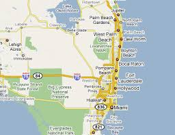 florida towns map map of south florida towns deboomfotografie