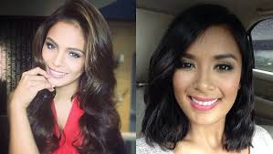 filipina artist with copper brown hair color hair colors for morena beauties preview