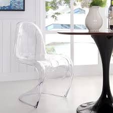 modern dining chairs s acrylic dining chair eurway