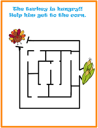 simple thanksgiving simple thanksgiving mazes images reverse search