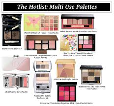 the hotlist u2013 multi palettes the luxe beauty blog