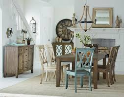 Retro Dining Room Furniture Standard Furniture Vintage Table And 6 Chair Set Wayside