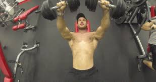 Bodybuilder Bench Press Training Pecs Muscular Weight Lifting Bodybuilding Bodybuilder