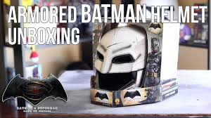 rubies halloween 5 mask armored batman helmet unboxing review rubies batman helmet