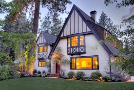 Front Of House Landscaping by Classic Tudor Remodel In Bend Oregon Front Of House Landscape