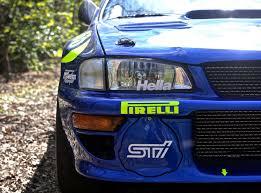 late rally hero colin mcrae u0027s subaru impreza rally car sells for
