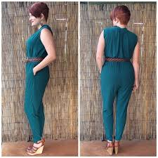 jumpsuit stitching pattern mccall s misses romper and jumpsuit 7099 pattern review by
