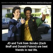 Zach Braff Meme - jd and carla discuss turk in scrubs so funny classic dorian