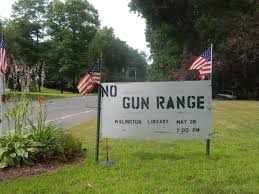 willington protesters decry proposed state police gun range the