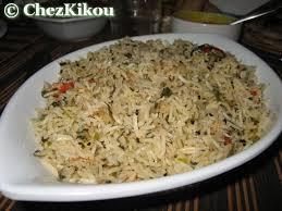 cuisine indienne riz riz à la menthe et au lait de coco de kikou chez kikou