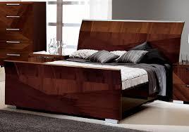 Alf Bedroom Furniture Collections Esf Furniture Capri Queen Sleigh Bed In Walnut
