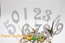 cake topper numbers glitter number cake toppers online glitter number cake toppers