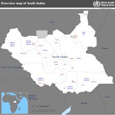 Sudan On World Map by Who South Sudan Crisis
