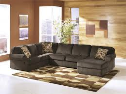 vista chocolate large sectional by ashley furniture tenpenny