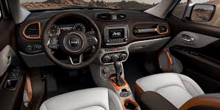 gray jeep renegade interior jeep french polynesia vehicle renegade interior