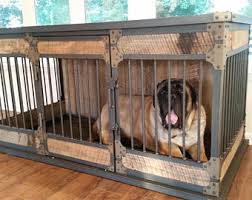 Dog Crate With Bathroom by Dog Crate Furniture Etsy