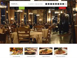 10 best free responsive restaurant theme 2017