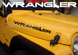jeep wrangler graphics gun decal decals graphics fit any jeep wrangler 022 gun