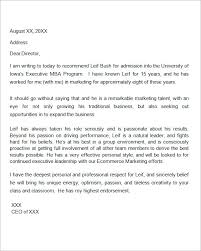 awesome collection of letter of recommendation writing format with
